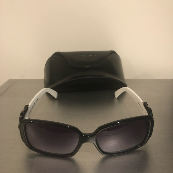 d9866a48f4fa Fendi Accessories | Buckle Sunglasses Black And White Fs383 | Poshmark